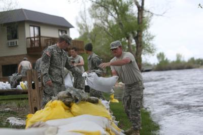 Saratoga flooding