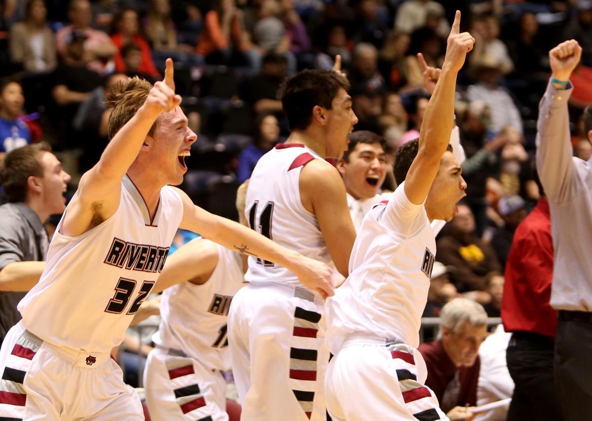 3A/4A State Basketball, Saturday Riverton win