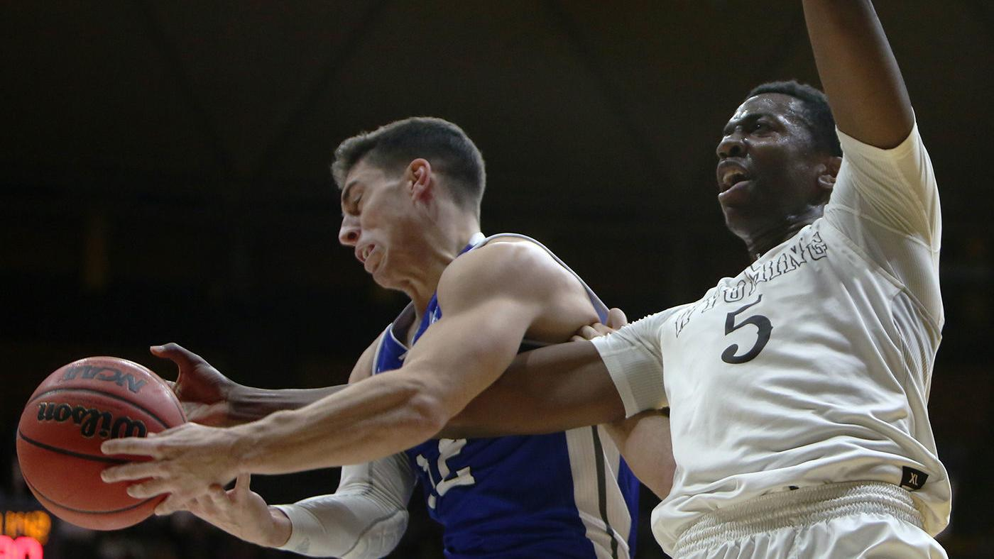 Wyoming men's basketball storms back for wild Border War win in 2OT