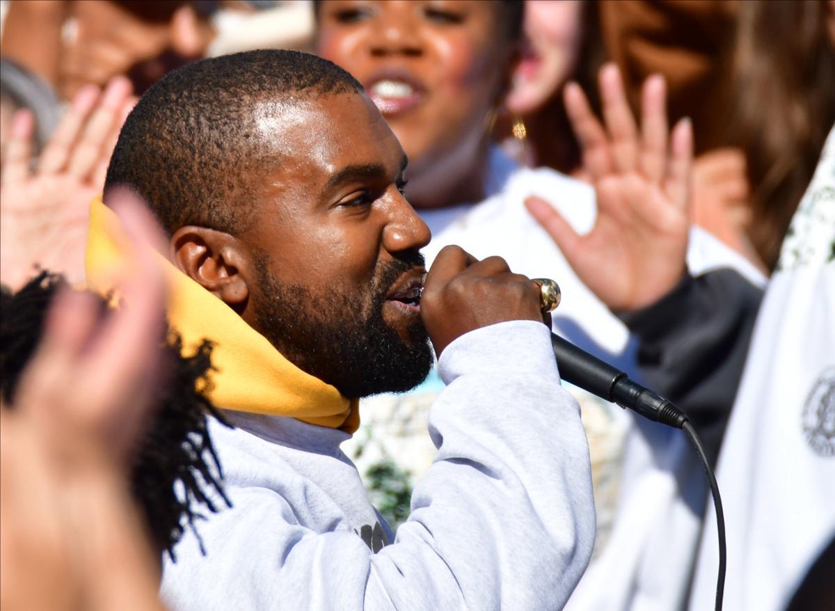 Kanye in Cody