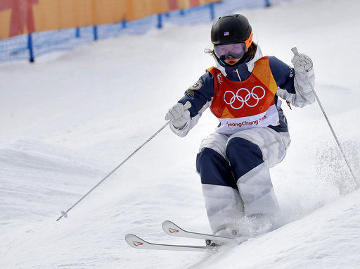 Bumps in her blood: Olympian's family made for moguls