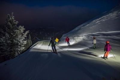 Big Sky night skiing