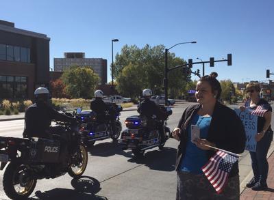 Lt. Danny Dundas procession