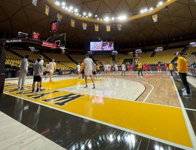 UW basketball court