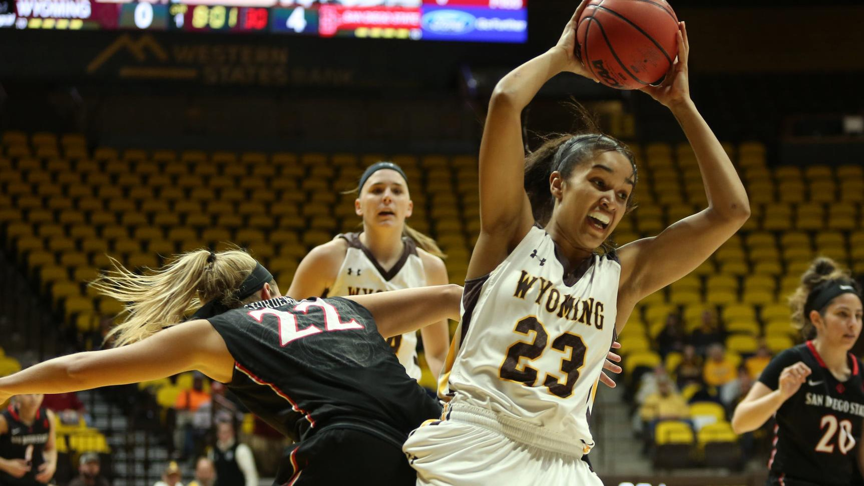 Wyoming women's basketball runs away from San Diego State in rematch, 70-50