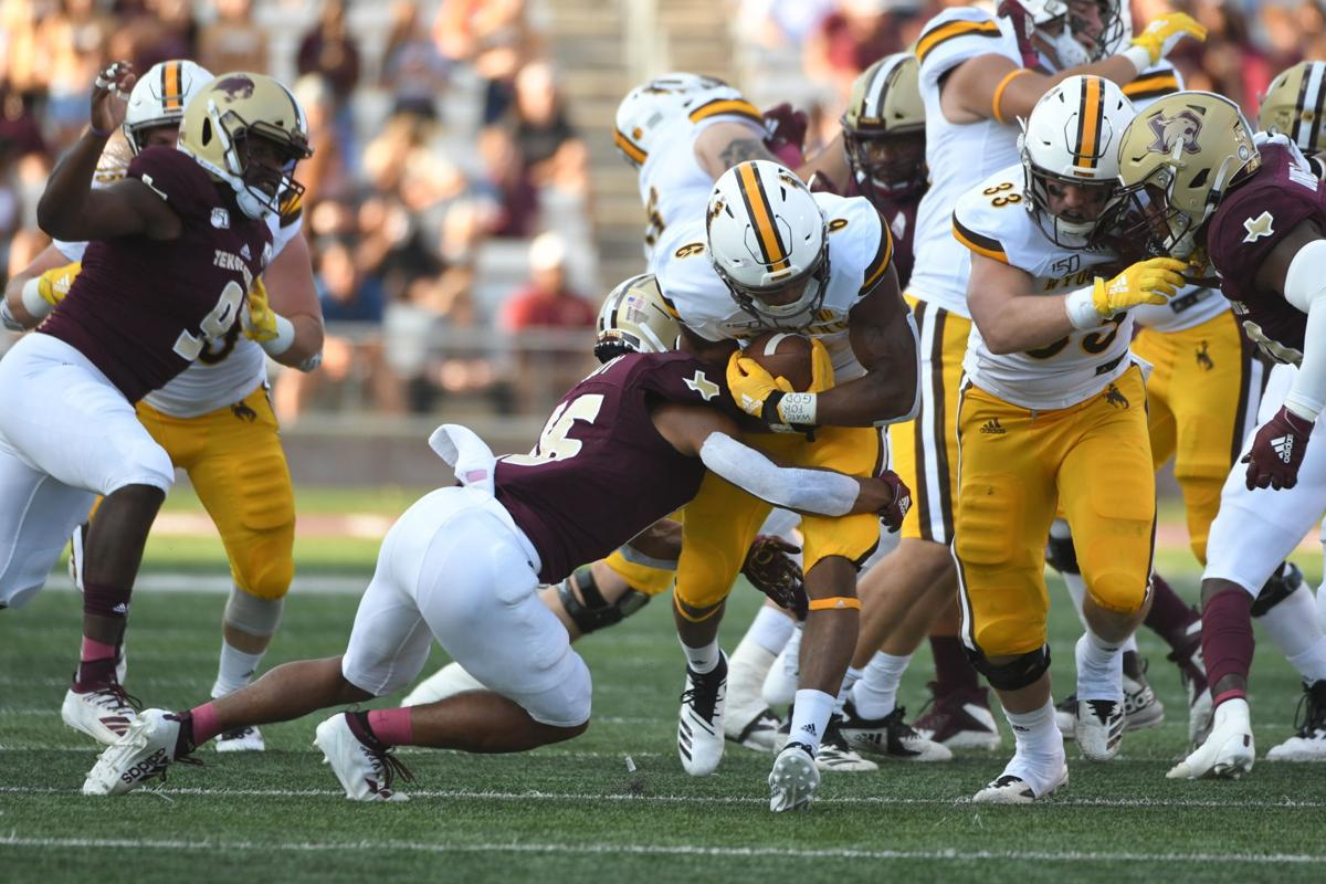Valladay at Texas State 2