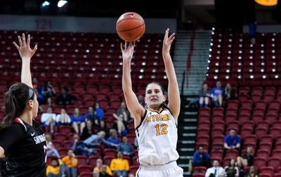 NCAA Women's Basketball: Wyoming vs San Diego State Mountain West Tournament 2019: