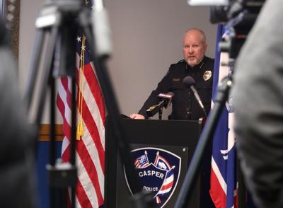 Casper Police Department press conference