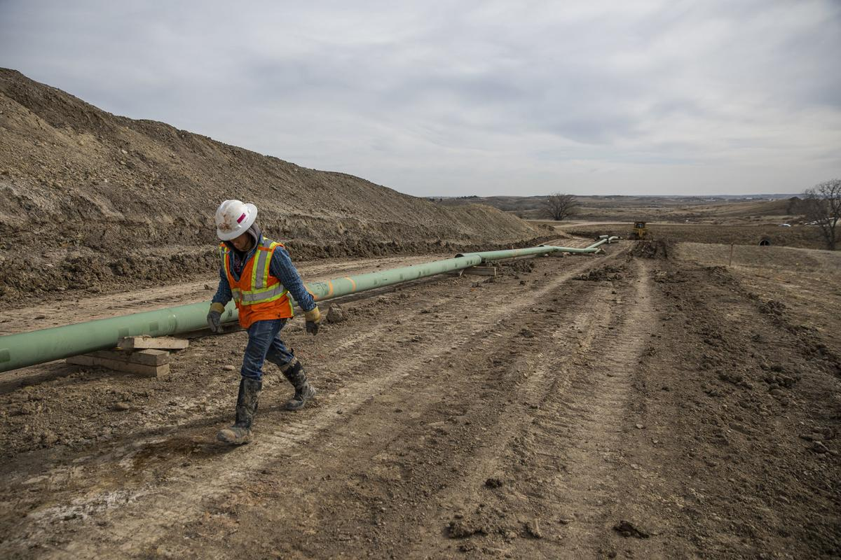 A network of pipeline is spreading in Wyoming as energy