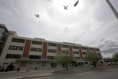 Wyoming Air National Guard flyover