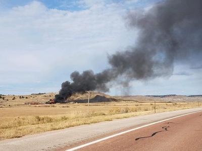 Oilfield explosion, fire leaves one dead