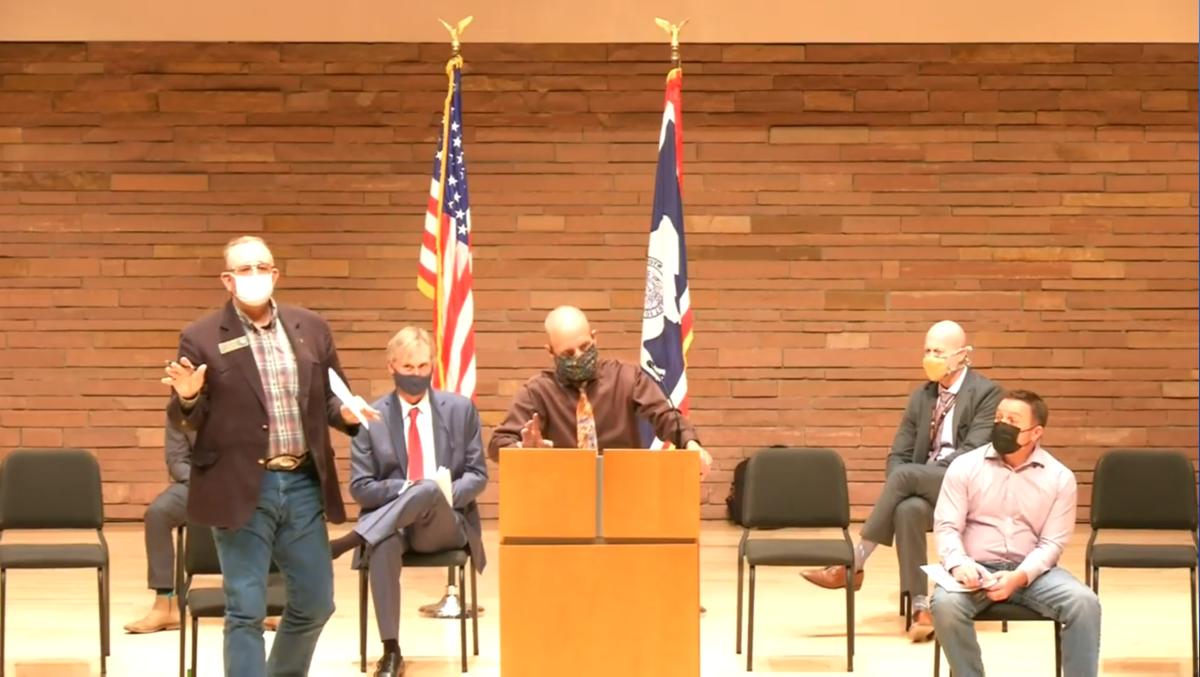 Natrona County news conference
