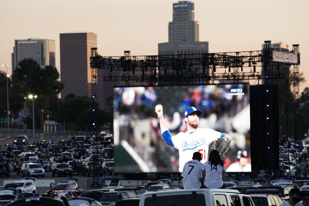 APTOPIX World Series Dodgers Fans Baseball