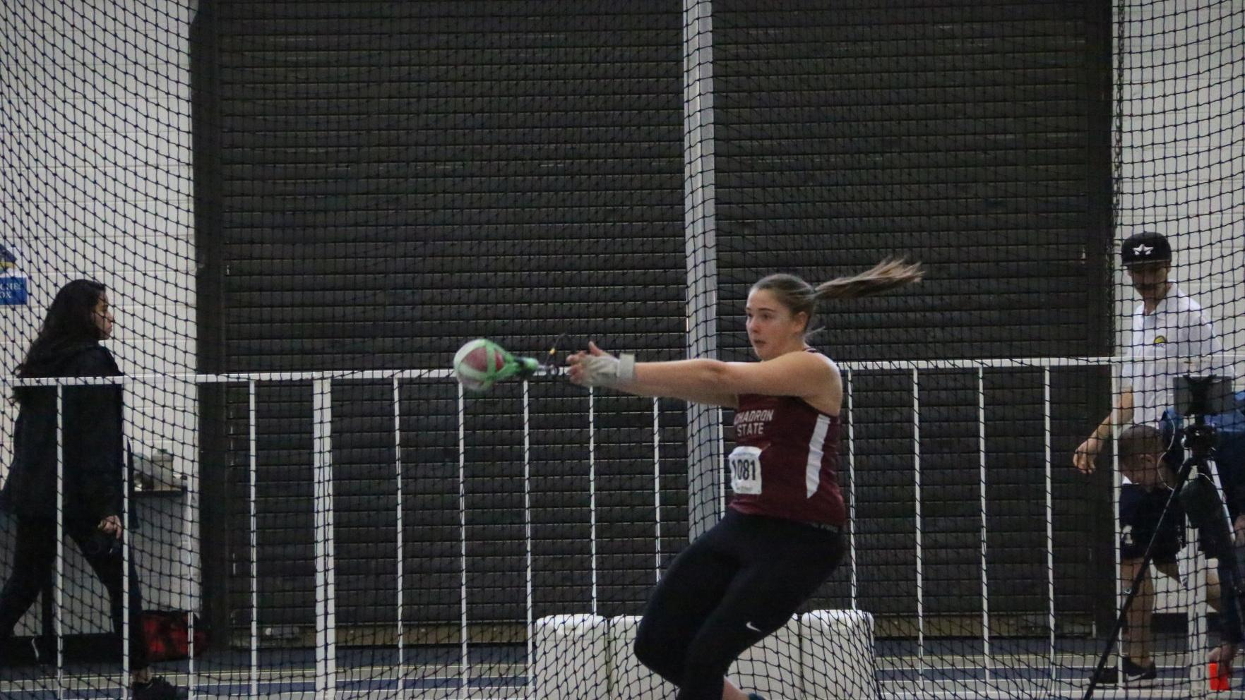 Natrona County grad Hallsted takes 2nd in weight throw at RMAC Indoor Championship