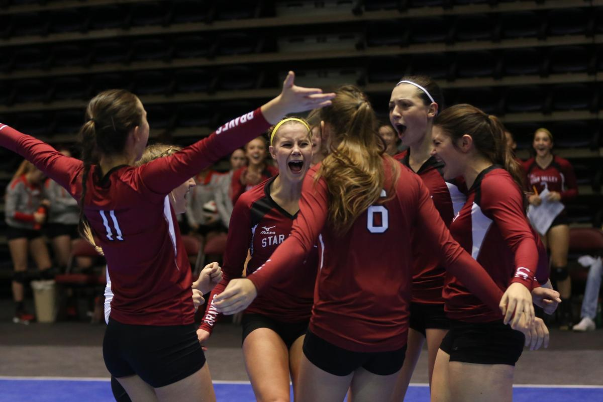 State Volleyball Day One - Star Valley