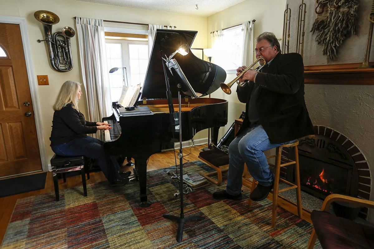 Tango through time and place: Casper couple performs music