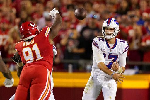 Allen, Bills beat Chiefs 38-20 in AFC title game rematch