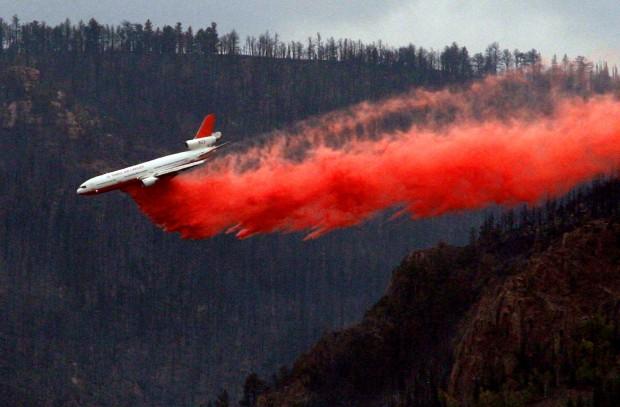 Casper Mountain Fire - Tuesday