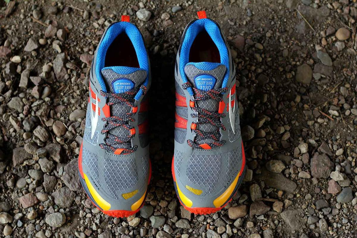 f7dfaca9fb2d0 Brooks Running. The special edition Cascadia trail running shoe from Brooks  honors Scott Jurek s ...