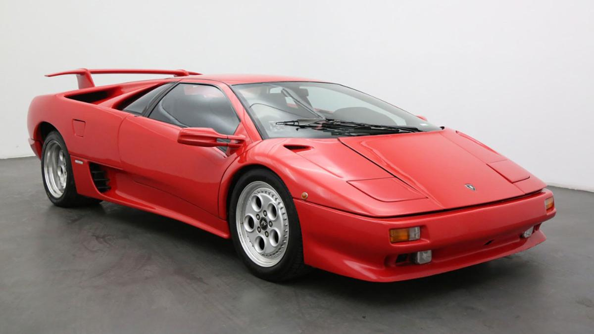 The Lamborghini Diablo featured in the James Bond film 'Die Another Day' is for sale