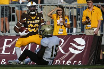 After Climb Up The Depth Chart Wyoming Rb Xazavian Valladay Comes In Clutch