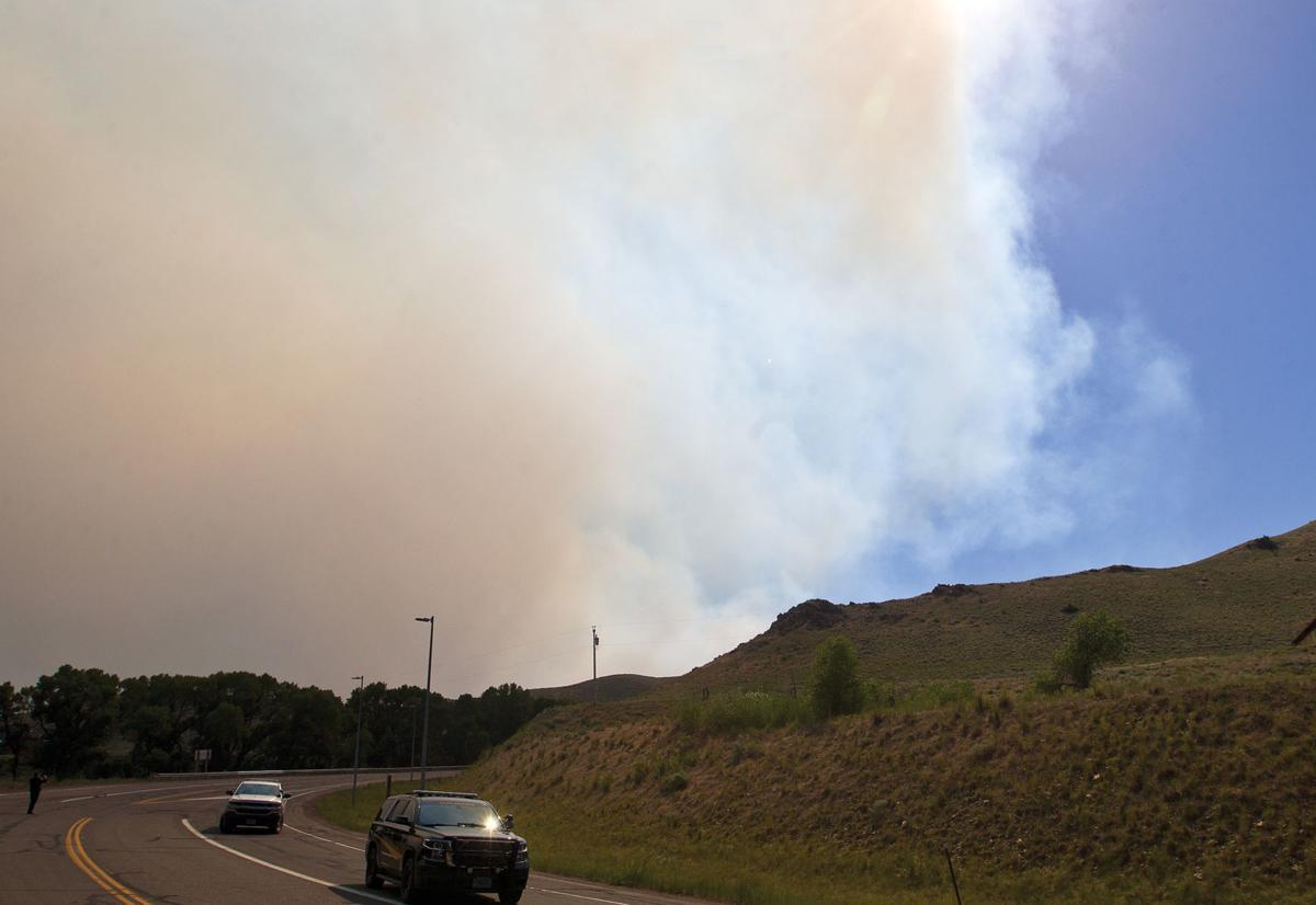Wyoming wildfire grows rapidly, more firefighters on way