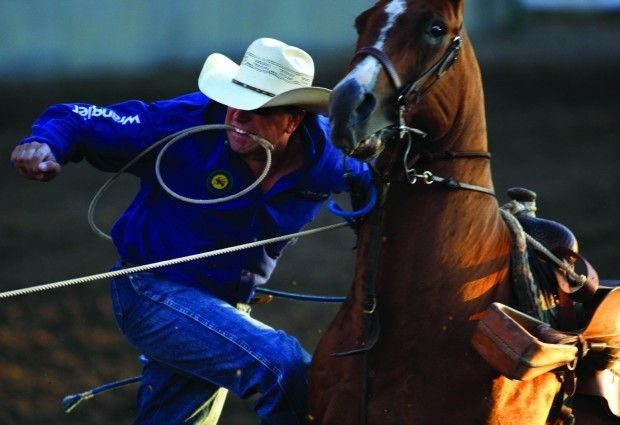 Tie Down Roper Burk Makes One More Run At Nfr Rodeo