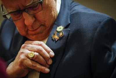 Sen. Enzi might be keeping quiet now, but he's had plenty to say about impeachment in the past