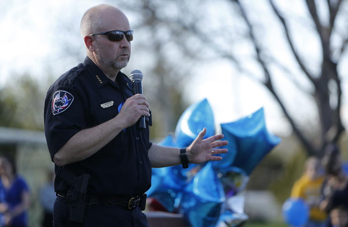 Rally for Wounded Officer