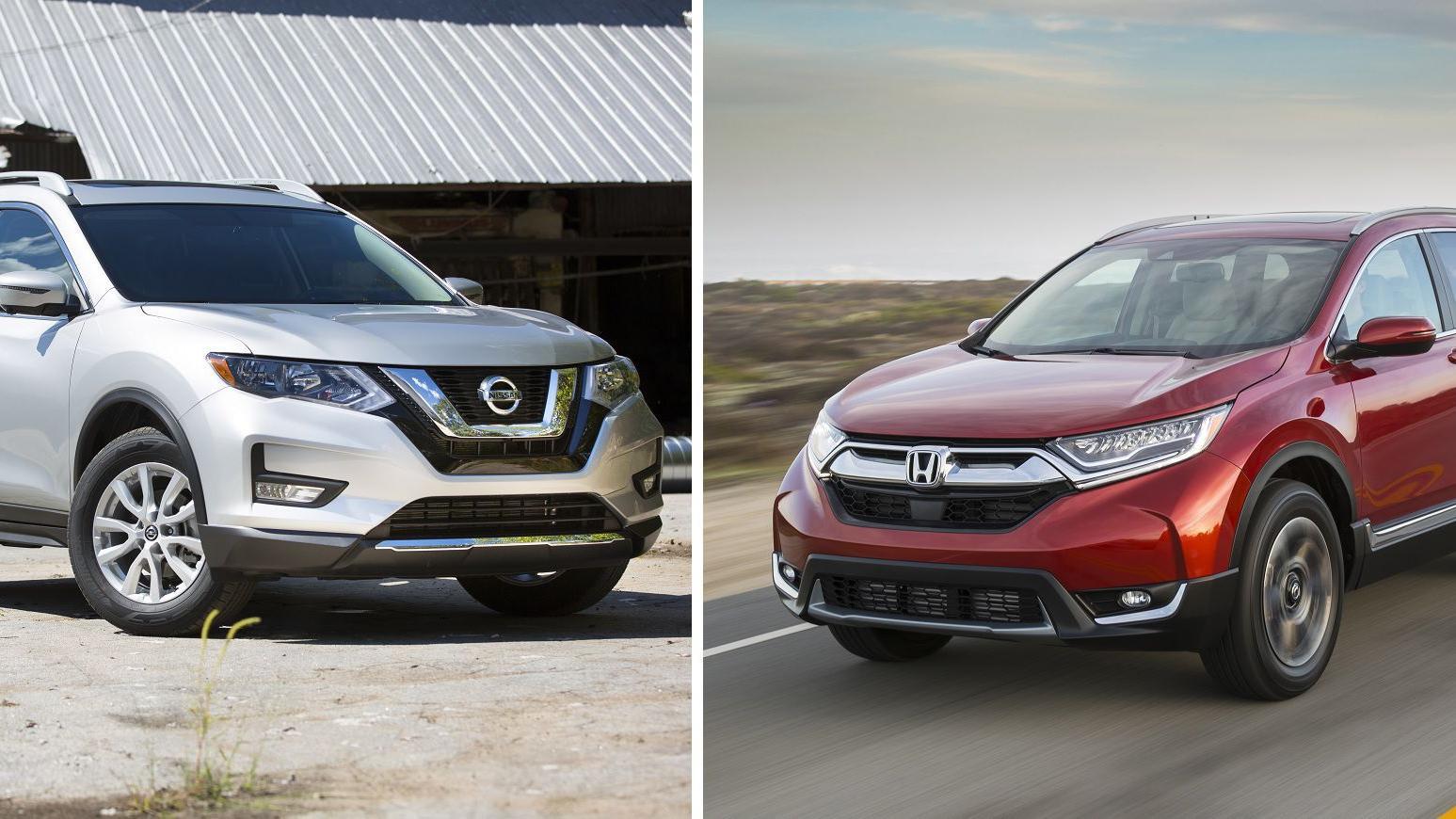 The Honda CR-V vs. the Nissan Rogue