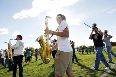 UW, Troopers Drum & Bugle Corps come together to host school band invitational