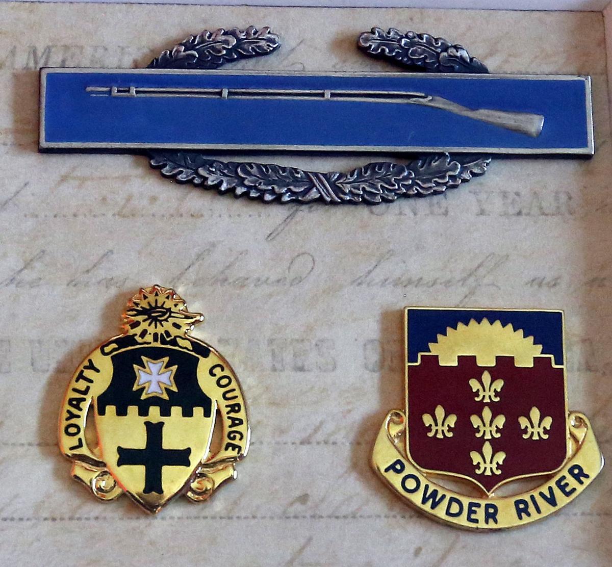 Jim Swan's medals