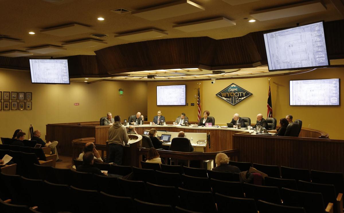 Casper City Council meeting