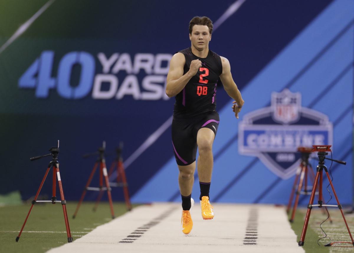 Josh Allen - NFL Combine