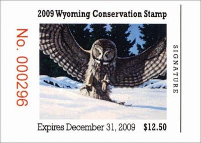 A Refresher On Some Of Wyomings Hunting Rules And Regulations The 2009 Conservation Stamp
