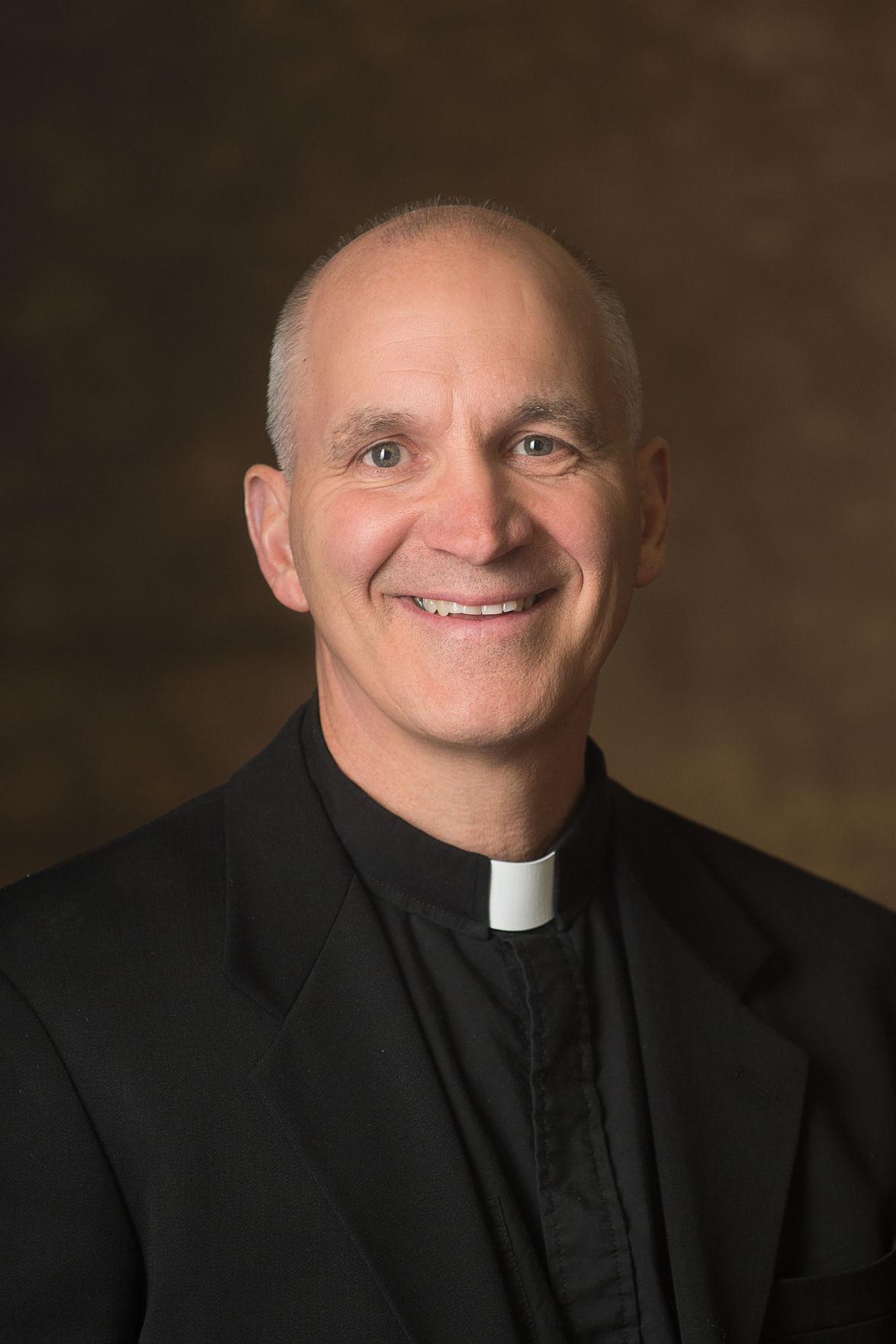 Bishop-elect Steven Biegler