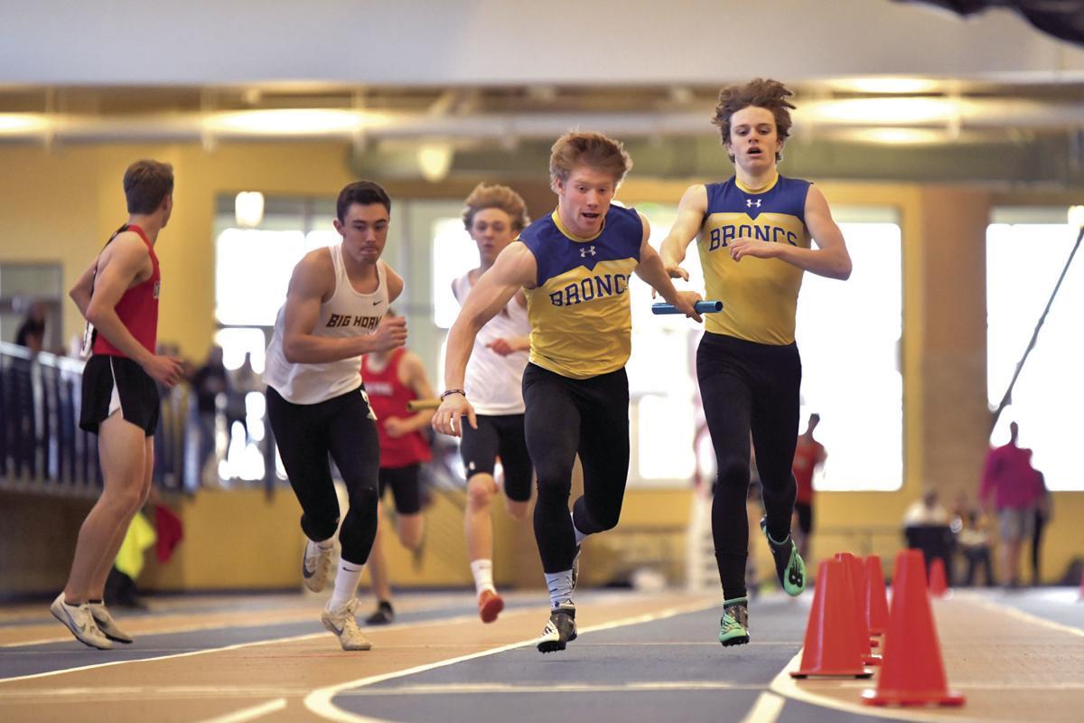 Brock Bomar indoor relay