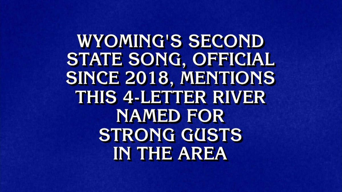 """Jeopardy!"" clue about Wyoming"