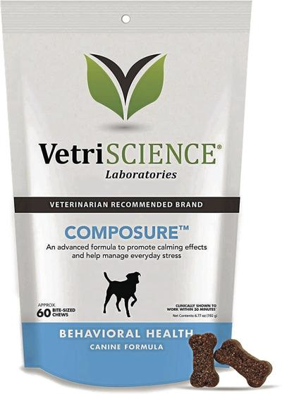 VetriScience Laboratories' Composure Calming Treats for Dogs_CMYK.jpg