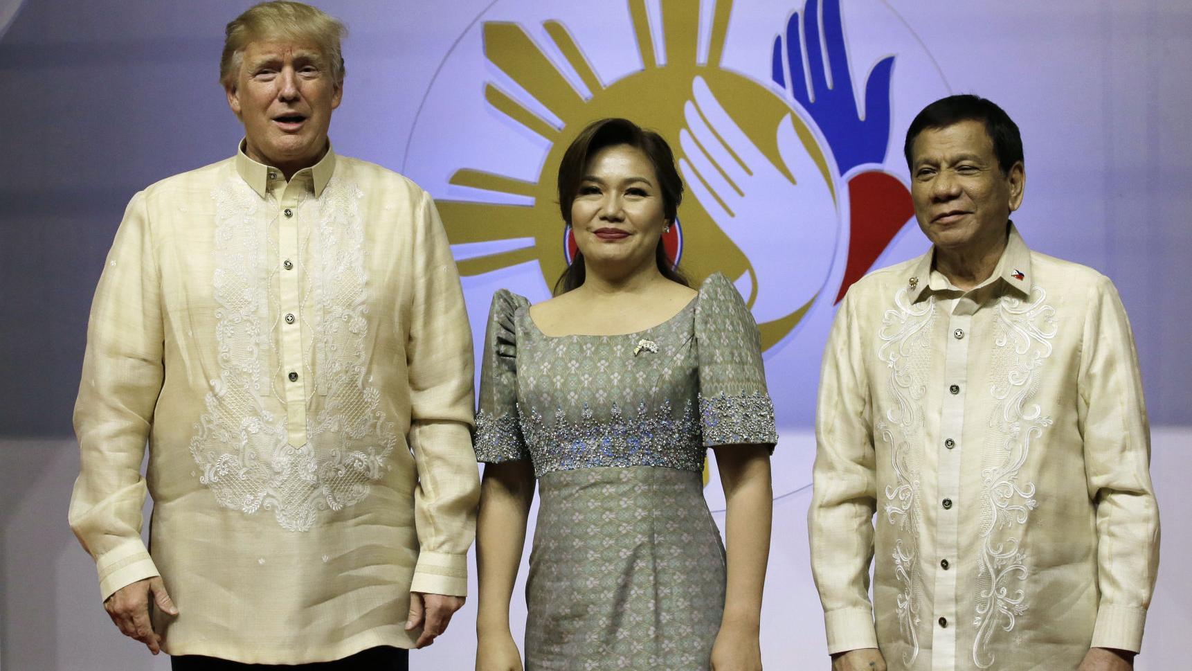Scenes from Trump's 'tremendously successful' Asia trip