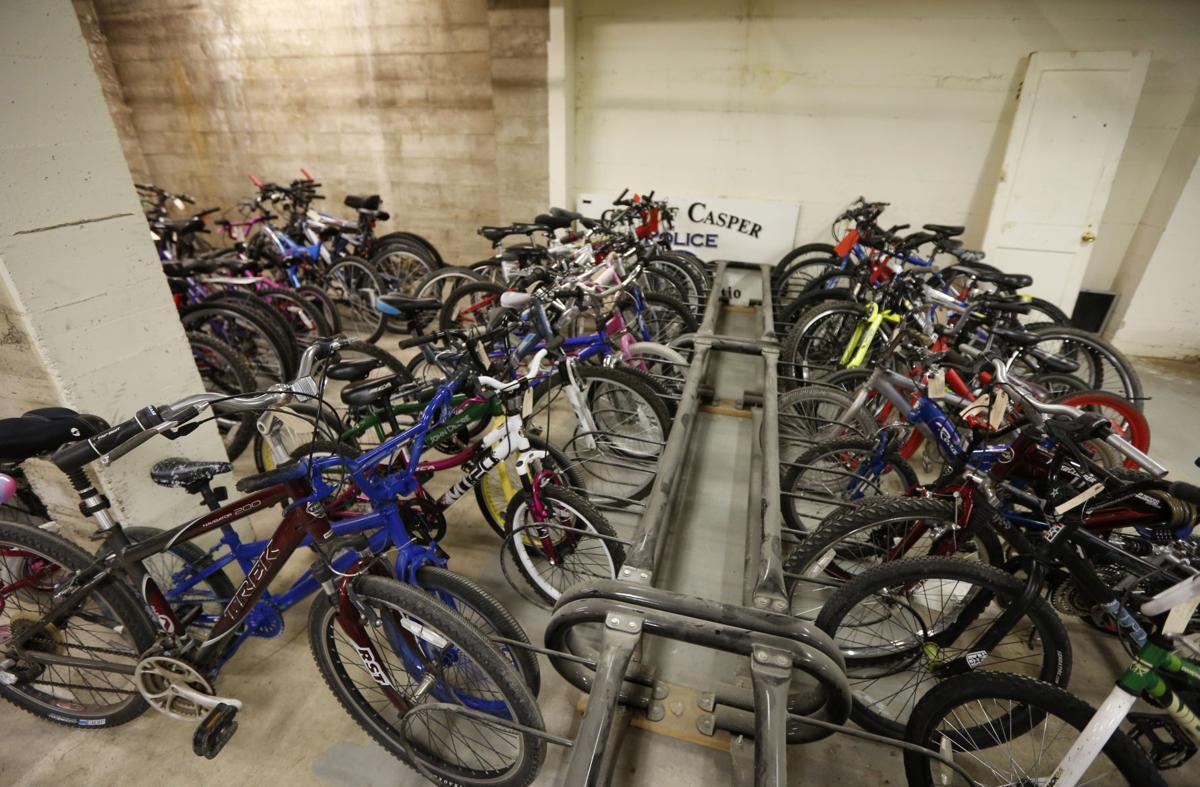 Police Bike Donations