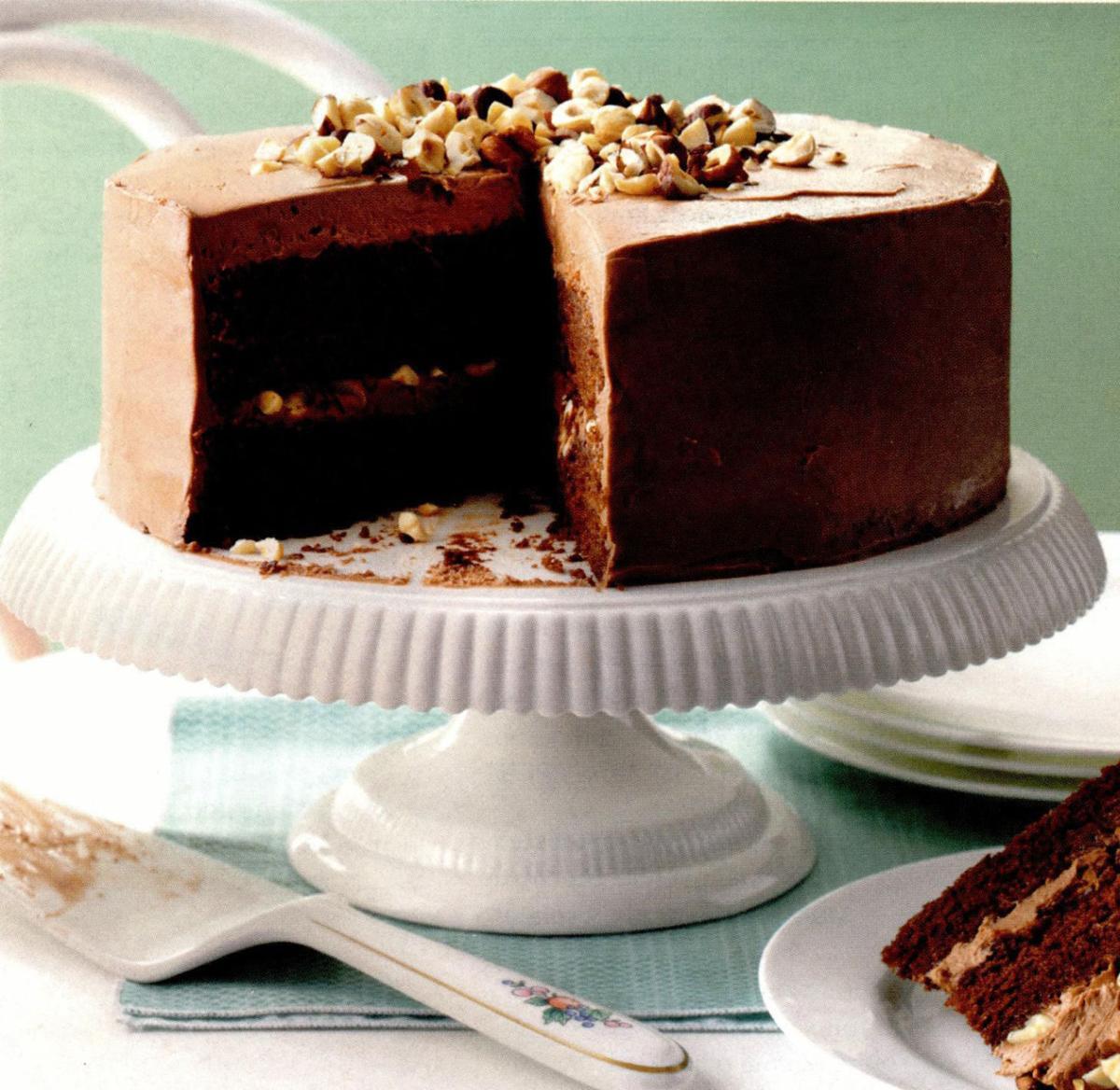 Mocha Hazlenut Torte