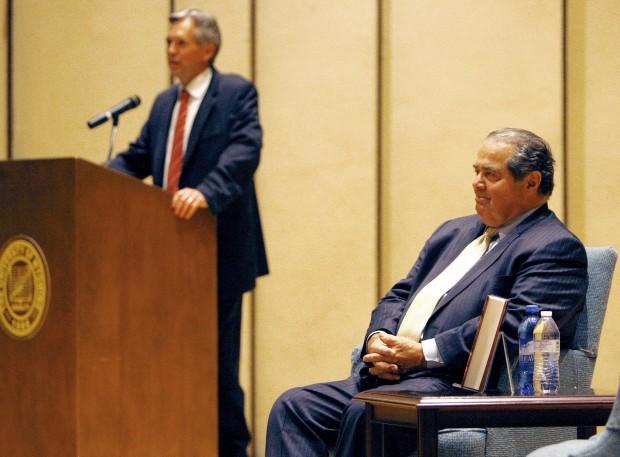 Justice Scalia speaks in Wyoming