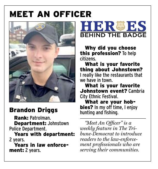 MEET AN OFFICER: Brandon Driggs