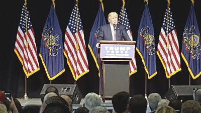Trump stumps in Scranton