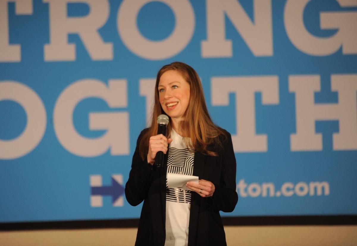 Clinton at UPJ