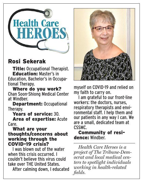 Health Care Heroes | Rosi Sekerak