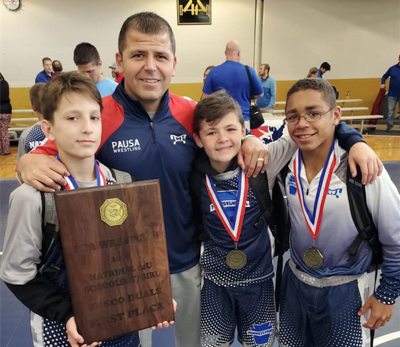 Top 100 junior high wrestlers