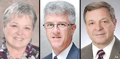 Karen Kleinosky, Paul Seitz, Frank Duca