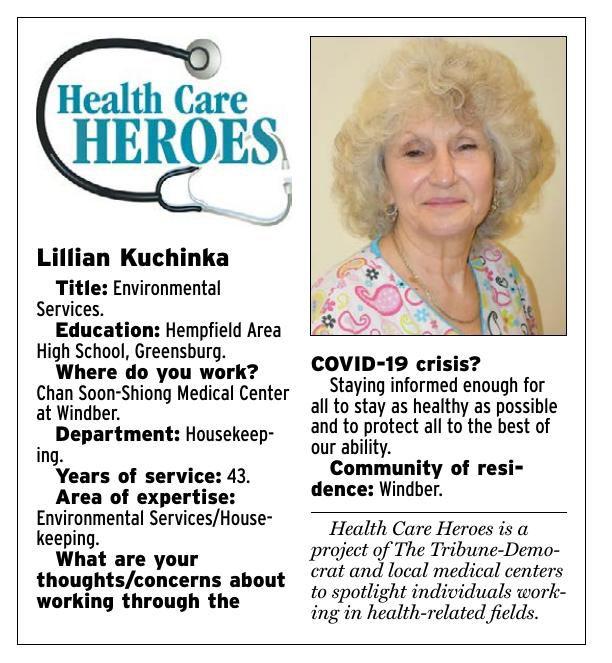 Health Care Heroes   Lillian Kuchinka